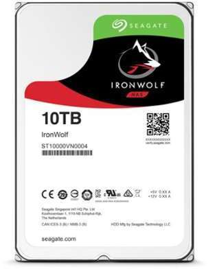 SEAGATE NAS HDD ronWolf 10